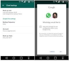 new update for android new whatsapp for android update comes with drive backup option