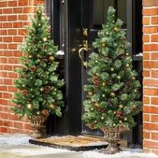 Pre Decorated Christmas Trees Artificial by 6ft 6in Winterfold Mint Green Pre Decorated Christmas Tree Pre