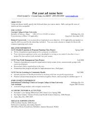 Resume For Computer Science How To Write A Perfect Internship Resume Examples Included Sample