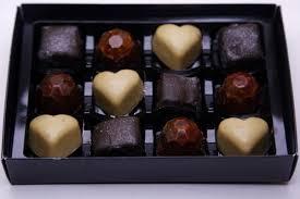 christmas chocolate box truffle pig vegan chocolate sheffield