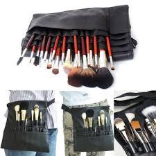 Makeup Artist Belt 22 Pockets Professional Makeup Brushes Apron Bag Artist Belt Strap