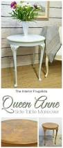 queen anne table cooled with icicle the interior frugalista