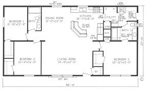 one bedroom mobile homes double wide floor plans 4 bedroom double