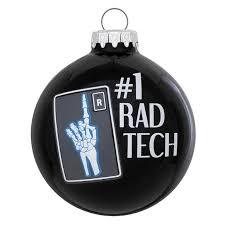1 rad tech ornament ornaments callisters