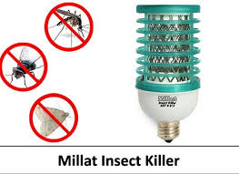 insect killer light bulb pack of 2 insect killer led anti mosquito device by millat
