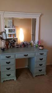 Diy File Cabinet Desk by Convert Executive Desk Into Vanity Furniture Pinterest