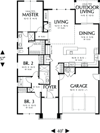 craftsman style house plans no garage home style