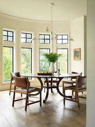 half round dining table half round dining table dining room transitional with curved window