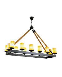 Rectangular Shade Pendant Light by Rustic Style Hemp Cord Pendant Light With Iron Rectangle Frame