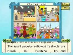learn evs class 3 our festivals part 2 animation youtube