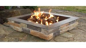 Blue Rhino Propane Fire Pit Endless Summer Gad1429sp Gas Outdoor Fireplace With Slate Mantel