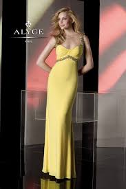 yellow dresses yellow prom gowns promgirl net