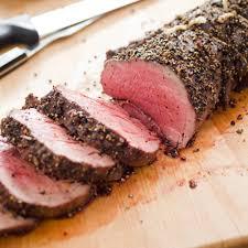 salt crusted beef tenderloin pepper crusted beef tenderloin roast the cook s illustrated meat