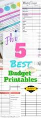 Best Monthly Budget Spreadsheet by 5 Budget Templates That Will Make You Money Savvy The Avvy Couple