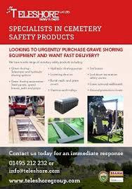 cemetery supplies teleshore uk grave shoring funeral supplies crematorium