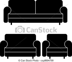 Clipart Armchair Vector Sofas And Armchair Eps Vectors Search Clip Art