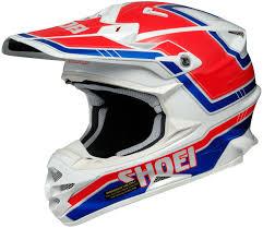 best motocross helmets shoei sheild shoei vfx w hectic motocross helmet black blue