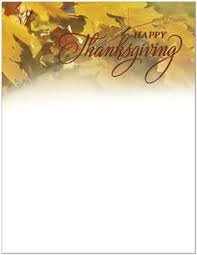 thanksgiving letterhead templates happy thanksgiving