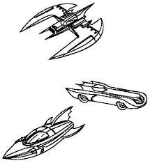 batmobile coloring pages getcoloringpages