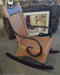 Patio Rocking Chairs Wood by Pier 1 Wicker Rocking Chair New England Home Furniture Consignment