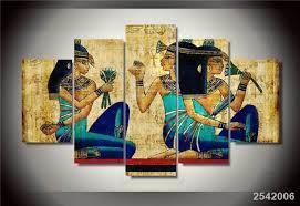 chambre de d馗ompression hd imprimé papyrus peinture sur toile chambre décoration d
