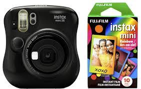 amazon black friday code fujifilm instax 300 amazon com fujifilm instax mini 26 rainbow film bundle black