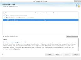 installing a feature pack in maximo 7 6 asset management