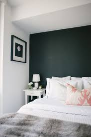 bedroom attractive blue contemporary bedroom accent wall design
