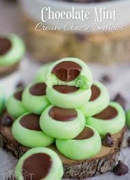 chocolate mint cream cheese buttons mom on timeout