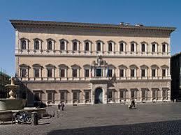 cortile palazzo farnese palais farnèse wikipédia