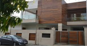 modern minimalist house minimalist house and exterior decoration front elevation wood tiles