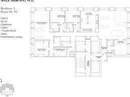sle floor plans for houses 432 park ave ph91a new york ny 10022 40 250 000 luxury home