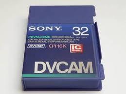 hdv cassette sony dvcam pdvm 32me hdv 16k digital cassette brand new ebay