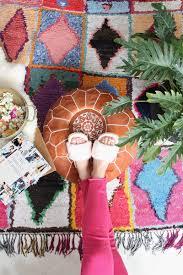 pouf marocain cuir pouf chambre bébé marocain cuir naturel boutique baba souk