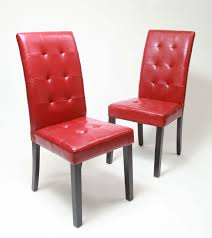 Parsons Chair Leather Roundhill Furniture