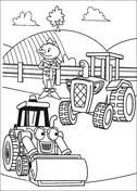 bob builder coloring pages free coloring pages