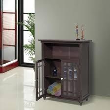 2 Door Floor Cabinet Home Fashions Neal Door Floor Cabinet