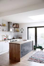 peinturer comptoir de cuisine peinture tableau noir dans la maison côté maison