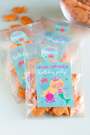 mermaid party supplies 3 diy mermaid party favor ideas gift favor ideas from evermine