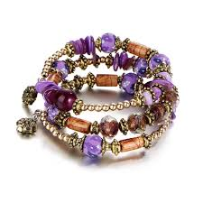 vintage jewelry bracelet images Vintage jewelry bohemia colorful ball bracelet jpg