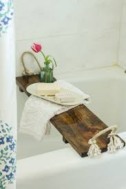 Tray For Bathtub Free Plans Diy Bath Tub Tray Tutorial