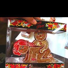 vh ornament gingerbread humorous