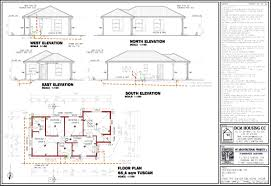 3 bedroom house plan with double garage 2 plans best south africa