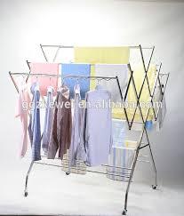 Bedroom Clothes Horse Bedroom Top Hanging Clothes Drying Rack Suppliers Regarding Dryer