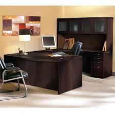 Bestar U Shaped Desk Desk Bestar Connexion U Shaped With Hutch For Contemporary