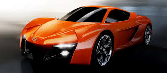 orange sports cars ied students hyundai collaborate on gen y sports car