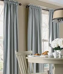 Ticking Stripe Curtains 96 Ticking Stripe Curtain Panel In Plow Hearth Http Www