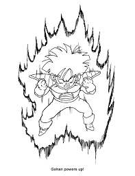 dragon ball z coloring pages online astounding coloring page