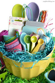 Baking Gift Basket Best 25 Easter Gift Baskets Ideas On Pinterest Easter Baskets
