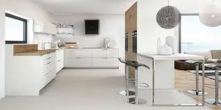 cuisine sol blanc cuisine formica marron
